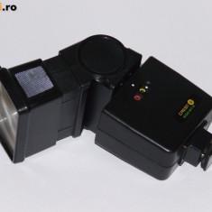 Blitz foto - Crest 600 STZ - Contact central - Transport gratuit prin posta!
