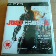 Joc Just Cause 2, PS3, original alte sute de jocuri! - Jocuri PS3 Eidos, Actiune, 16+, Single player