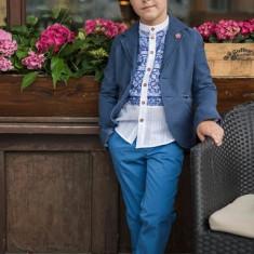 Sacou Iridor baieti Greece (Culoare: albastru, Imbracaminte pentru varsta: 13 ani - 157 cm)