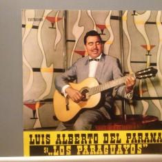 LUIS ALBERTO DEL PARANA & LOS PARAGUAYOS(EDE 0217/ELECTRECORD) - VINIL/IMPECABIL - Muzica Latino