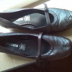 Pantofi dama maro comozi piele marime 39
