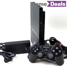 PlayStation 2 Sony Slim Modat Complet, PS2 32Gb, Play Station 2 Slim 32Gb