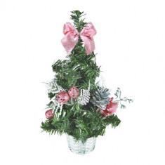Brad Craciun - Pom Mic de Crăciun cu Ornamente