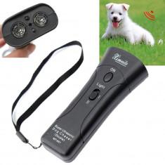 Aparat contra cainilor agresivi cu laser Ultrasonic Dog Chaser AO-651