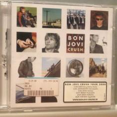 BON JOVI - CRUSH (2000/ISLAND REC/GERMANY) - CD /ORIGINAL - Muzica Rock universal records