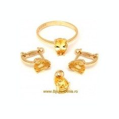 Bijuterii aur seturi colectie noua italia - Set bijuterii aur