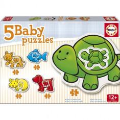 Puzzle Educa Bebe cu Animale de Ferma