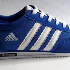 Adidasi barbati, Textil - Adidasi Adidas SL albastru-alb panza .Model NOU