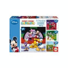 Puzzle Progresiv Mickey Mouse