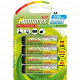 Set 4 acumulatori reincarcabili Memorex 1.2V AA/HR6
