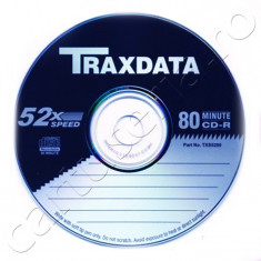 CD-R 80 min 700MB Traxdata 52x