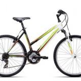 "Bicicleta dama CTM Stefi 2.0, 2016, cadru 16"", negru / verde PB Cod Produs: 037.52"