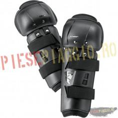 Protectii genunchi Thor Sector, negre PP Cod Produs: 27040083PE - Protectii moto