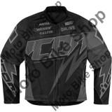 MBS Geaca textila fete Icon Hooligan Spaztyk, negru, 42, Cod Produs: 28220652PE - Imbracaminte moto