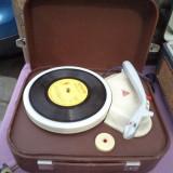 PICKUP PATEFON - turatii 33, 45, 78, decor complet - Magnetofon