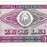 4. Bancnota 10 lei 1966 perfect UNC