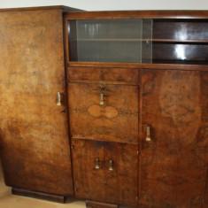 Mobilier - Sifonier din panel si lemn masiv; Dulap de dormitor
