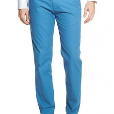 Pantaloni Barbati Tommy Hilfiger Custom Fit Originali USA, Marime: 28, Culoare: Bleu