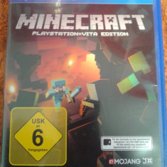 Vand jocuri ps vita, playstation vita, MINECRAFT, Board games, 12+, Single player