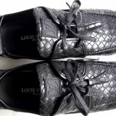 Adidasi Pantofi Louis Vuitton BARBATI negru - Adidasi barbati Louis Vuitton, Marime: 40, 41, 42, 43, 44, Culoare: Din imagine