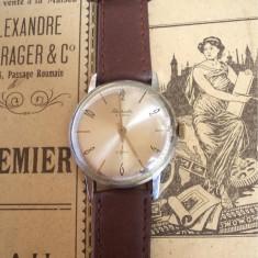 Ceas rusesc de colectie RAKETA, cal 2603, cadran argintiu, functional - Ceas de mana