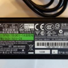 Incarcator laptop SONY 19.5V 2A VGP-AC19V39 PA-1400 -ORIGINAL ! Foto reale !, Incarcator standard
