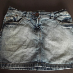 Fusta dama denim, jeans, blugi Next. marime s, Marime: S, Culoare: Albastru