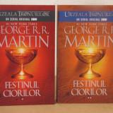 FESTINUL CIORILOR -GEORGE R.R.MARTIN, 2 VOLUME