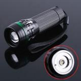 Lanterna cu led si zoom Cree LED cu 3 moduri de functionare