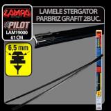 Lamele sterg parb cu clips Tergix Plus - 61 cm - 6,5 mm - 2 buc - CRD-LAM19000