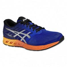 Adidasi barbati - Pantofi Alergare, Asics, FuzeX Cushioning, Albastru-Portocaliu, Barbati-45 - OLN-OL10-T639N.4350|45