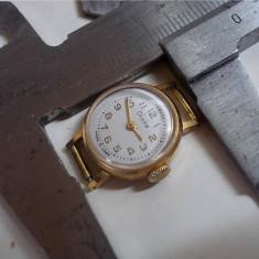 Ceas mecanic rusesc Chaika, cal. 1600, 17 jewels, 1985, functional - Ceas de mana