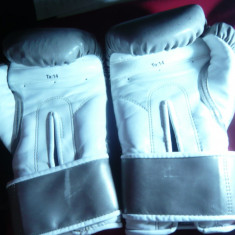 Manusi Box pt. antrenament, masura 14, Marca Everlast, fata din piele