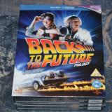 Film - Back To The Future Trilogy [3 filme 3 Blu-Ray Discs], Release UK Original - Film SF Altele, Engleza