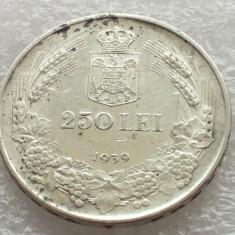 Monede Romania, An: 1939, Argint - 250 LEI 1939-ARGINT-REGELE CAROL II