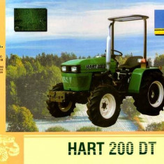 Tractor Hart 200 DT 4X4, an fabricatie 2000 - Utilitare auto