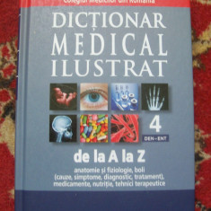 DICTIONAR MEDICAL ILUSTRAT NR 4 DEN-ENT