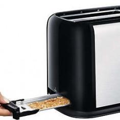 Toaster - Prajitor de paine Philips HD2586/20, 950W, 2 felii, Negru