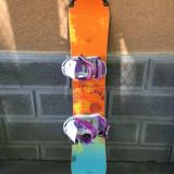 Placa snowboard ROSSIGNOL SONAR 143cm +legaturi ROSSIGNOL - Placi snowboard