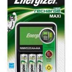 Energizer ENERGIZER Incarcator Maxi + 4 baterii Extreme AA reincarcabile incluse, 7638900325645 - Baterie Aparat foto