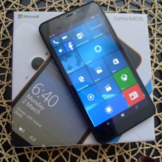 Microsoft Lumia 640xl LTE (4G) - Telefon Microsoft, Negru, Neblocat, Single SIM, 2G & 3G & 4G