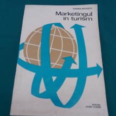 MARKETINGUL ÎN TURISM/ EUGENIU NICOLESCU/ 1975 - Carte Marketing