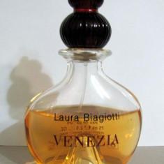 Laura Biagiotti VENEZIA sticla 75ml consumat cat se vede in poza - Parfum femeie