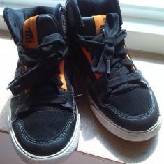 Adidasi baiat marimea 32 marca dc shoes - Adidasi copii Dc Shoes, Culoare: Negru, Baieti