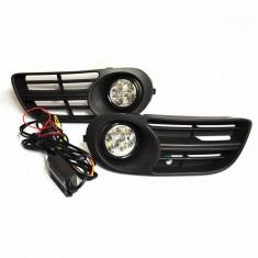Kit proiectoare LED auto Skoda Fabia 2004 - 2008 - DRL, FABIA (6Y2) - [1999 - 2008]