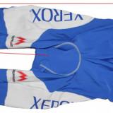 Pantaloni lungi cu bretele ciclism Maro Italia, barbati, marimea L
