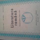 LITERATURA ROMANA DE BOJIN ETC, 1977, MANUAL CL 11, 278 PAG CARTONAT STARE BUNA - Manual Clasa a XI-a, Clasa 11