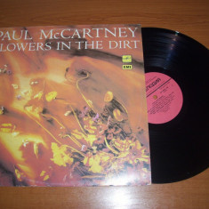 PAUL McCARTNEY-FLOWERS IN THE DIRT disc vinil LP vinyl pickup pick-up - Muzica Rock