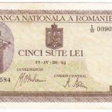 Bancnota 500 lei 20.IV.1942 filigran vertical (5)