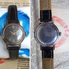 Ceas de mana - Ceas mecanic rusesc Slava, cal. 1601, 17 jewels, anii 80